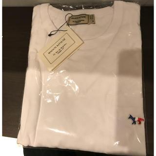メゾンキツネ(MAISON KITSUNE')のCR72612さん専用 メゾンキツネ Tシャツ白黒S(Tシャツ/カットソー(半袖/袖なし))