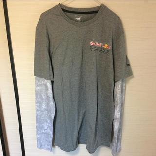 プーマ(PUMA)のプーマ&レッドブル 長袖ティーシャツ XL(Tシャツ/カットソー(七分/長袖))