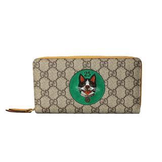 グッチ(Gucci)のGUCCI Bosco GGスプリーム ラウンドファスナー長財布(財布)