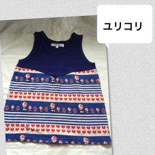 アチャチュムムチャチャ(AHCAHCUM.muchacha)のユリコリ プードル ノースリーブ トップス 150 160(Tシャツ/カットソー)