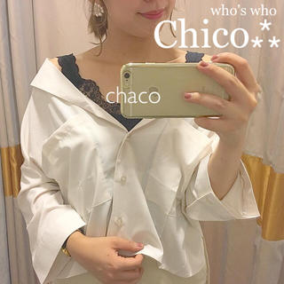 フーズフーチコ(who's who Chico)の新品⁂タグ¥6372【Chico】オーバーサイズスキッパーシャツ(シャツ/ブラウス(長袖/七分))