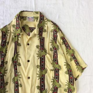 【激レア】古着 奇抜 個性派 レーヨン アロハシャツ ビッグサイズ(シャツ)
