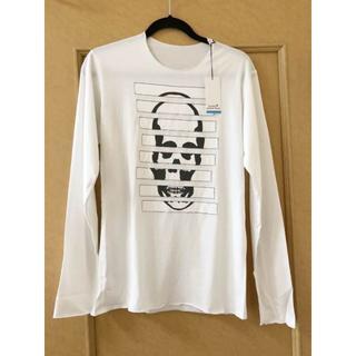 ルシアンペラフィネ(Lucien pellat-finet)の新品 ルシアンペラフィネ 白 ロングTシャツ Sサイズ(Tシャツ/カットソー(七分/長袖))