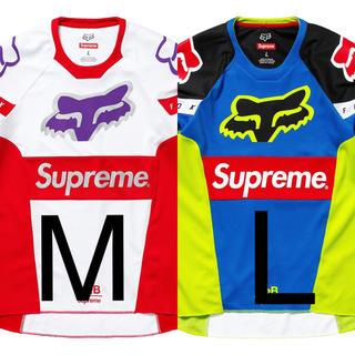 シュプリーム(Supreme)のsupreme フォックスレーシング セット(Tシャツ/カットソー(七分/長袖))