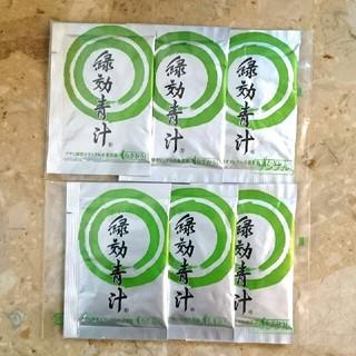 アサヒ(アサヒ)の緑効青汁  6袋(青汁/ケール加工食品 )