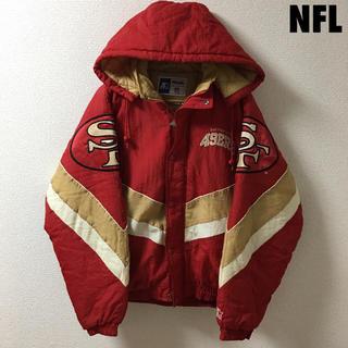 2936 NFL 49ers フォーティナイナーズ 中綿 パーカー スタジャン(ナイロンジャケット)