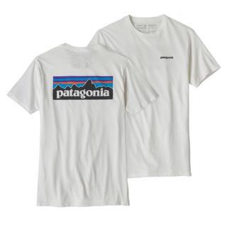 パタゴニア(patagonia)の新品 パタゴニア ロゴ半袖Tシャツ Sサイズ(Tシャツ/カットソー(半袖/袖なし))