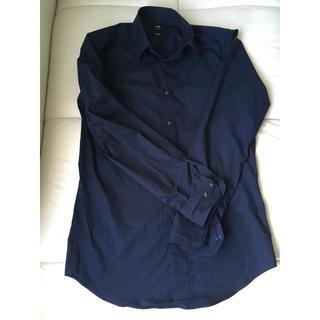 ユニクロ(UNIQLO)のユニクロ 紺シャツ(シャツ)