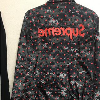 シュプリーム(Supreme)の【美品】supreme × コムデギャルソン コーチジャケット sサイズ(ナイロンジャケット)