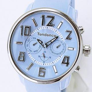 テンデンス(Tendence)のテンデンス TG765002 G47 マルチファンクション ライトブルー 腕時計(腕時計(アナログ))