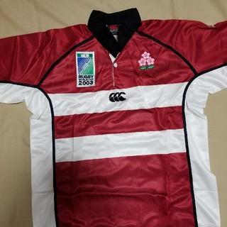 カンタベリー(CANTERBURY)の2003年ラグビーW杯日本代表ジャージLサイズ(ラグビー)