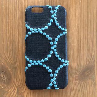 ミナペルホネン(mina perhonen)のハンドメイド iPhone6sケース ミナペルホネン・タンバリン (スマホケース)