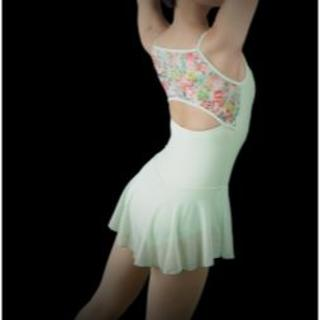 チャコット(CHACOTT)の*WEAR MOI* 8,640円 スカート付キャミソールレオタード サイズS(ダンス/バレエ)