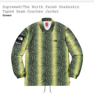シュプリーム(Supreme)のSnakeskin Taped Seam Coaches Jacket(ナイロンジャケット)