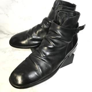 ニルアドミラリ(nil admirari)のnil admirari ニルアドミラリ レザーブーツ 25.5cm(EU41)(ブーツ)