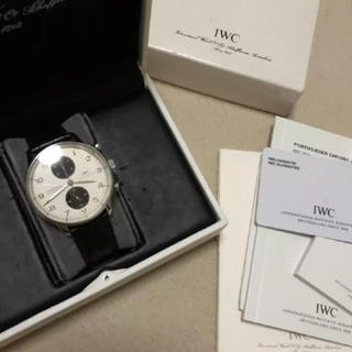 インターナショナルウォッチカンパニー(IWC)のIWC ポルトギーゼ クロノ 飴玉様専用(腕時計(アナログ))