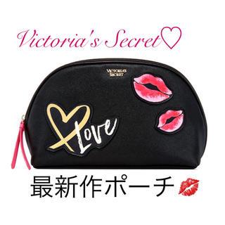 ヴィクトリアズシークレット(Victoria's Secret)の最新作💋VS 大きな可愛いポーチ♡新品タグ付(ポーチ)