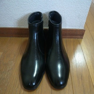 Mc.WATER 雨用 ビジネスシューズ レインシューズ ブラック(長靴/レインシューズ)