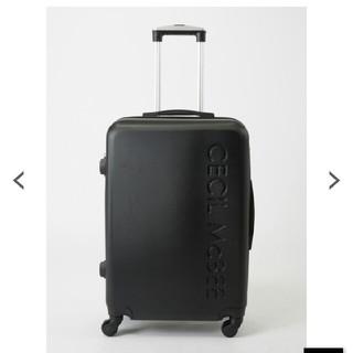 セシルマクビー(CECIL McBEE)の新品セシル*キャリーケース(スーツケース/キャリーバッグ)