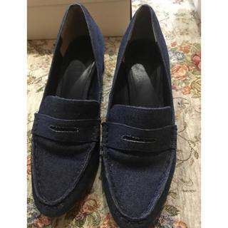 ランダ(RANDA)のデニムローファー(ローファー/革靴)