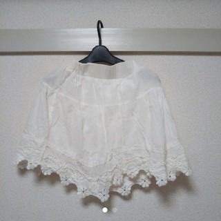 マジェンダ(Magender)の*値下げ Magender 白フレアスカート*(ひざ丈スカート)