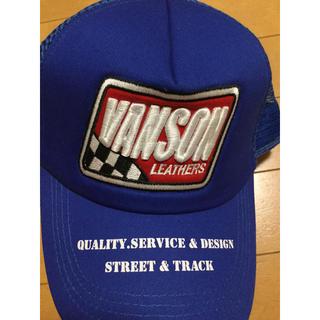 バンソン(VANSON)のVANSON バンソン メッシュキャップ スナップバック 帽子 未使用 ⑤(キャップ)