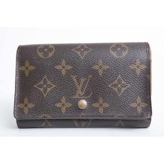 ルイヴィトン(LOUIS VUITTON)の美品 良品 本物 ルイ ヴィトン モノグラム 二つ折り財布 正規品(財布)