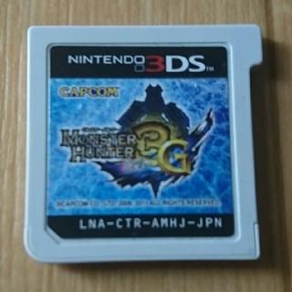 ニンテンドウ(任天堂)の3DSソフト モンハン3G(携帯用ゲームソフト)