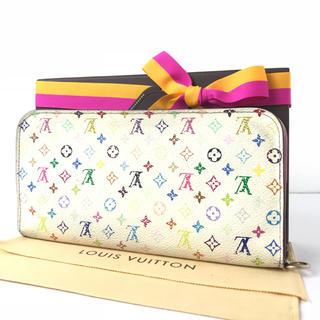 ルイヴィトン(LOUIS VUITTON)のルイヴィトン  ポルトフォイユ  アンソリット  マルチカラー  ピンク系(財布)