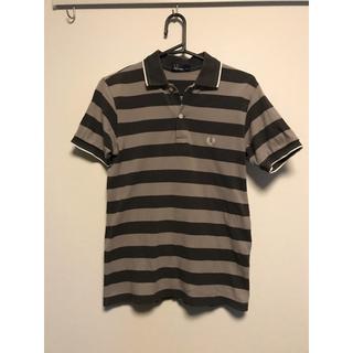 フレッドペリー(FRED PERRY)のフレッドペリー ボーダー柄 ポロシャツ S~Mサイズ(ポロシャツ)