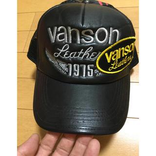 バンソン(VANSON)のVANSON バンソン メッシュキャップ スナップバック 帽子 未使用 ⑨(キャップ)