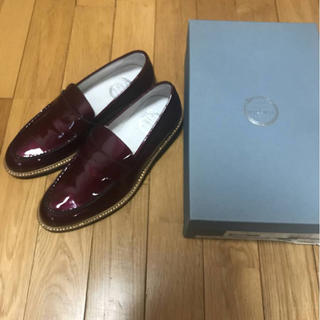 BUCCHUSボルドーローファー(ローファー/革靴)
