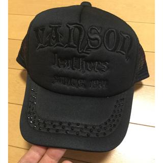 バンソン(VANSON)のVANSON バンソン メッシュキャップ スナップバック 帽子 未使用 11(キャップ)