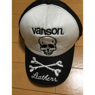 バンソン(VANSON)のVANSON バンソン メッシュキャップ スナップバック 帽子 未使用 12(キャップ)