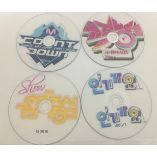 韓国K-pop番組 6枚セット 先週放送分(180612~180617) DVD(K-POP/アジア)