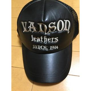 バンソン(VANSON)のVANSON バンソン メッシュキャップ スナップバック 帽子 未使用 14(キャップ)