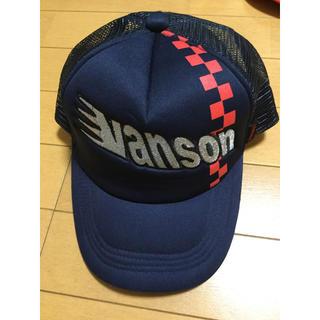 バンソン(VANSON)のVANSON バンソン メッシュキャップ スナップバック 帽子 未使用 17(キャップ)