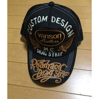 バンソン(VANSON)のVANSON バンソン メッシュキャップ スナップバック 帽子 未使用 19(キャップ)