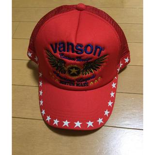 バンソン(VANSON)のVANSON バンソン メッシュキャップ スナップバック 帽子 未使用 20(キャップ)