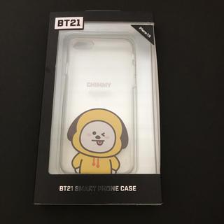 ボウダンショウネンダン(防弾少年団(BTS))のBT21  CHIMMY  iPhone 7/8  携帯ケース(アイドルグッズ)