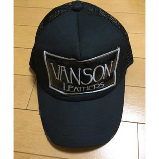 バンソン(VANSON)のVANSON バンソン メッシュキャップ スナップバック 帽子 未使用 21(キャップ)