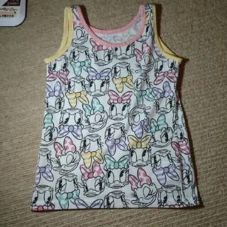 ライトオン(Right-on)の女の子 タンクトップ デイジー 総柄 110(Tシャツ/カットソー)