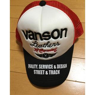 バンソン(VANSON)のVANSON バンソン メッシュキャップ スナップバック 帽子 未使用 23(キャップ)
