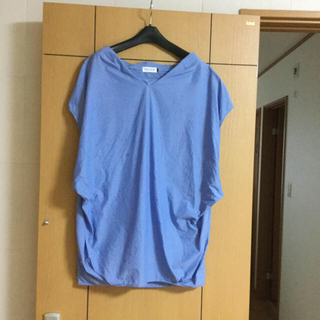 レプシィム(LEPSIM)のLEPSIM  コットン プルオーバー シャツ  (カットソー(半袖/袖なし))