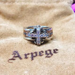 ローリーロドキン(Loree Rodkin)のArpege アルページュ オールドワールドコレクション クロス リング 指輪(リング(指輪))