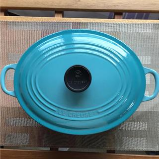 ルクルーゼ(LE CREUSET)のルクルーゼ ココットオーバル(鍋/フライパン)