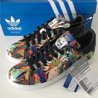 adidas - 【定価11880円】adidas×farm コラボ 鳥 総柄 スタンスミス 25