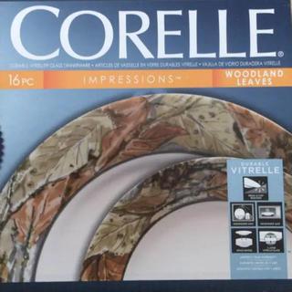 コレール(CORELLE)のコレール ウッドランドリーブス 16pcセット(食器)