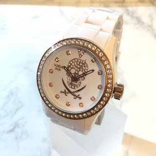 ヴァベーネ(VABENE)の【VABENE】ベゼルスワロ クオーツ腕時計 WH-1227(腕時計(アナログ))