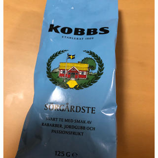 北欧/スウェーデンの紅茶☆ KOBBS サマーハウスティー(茶)